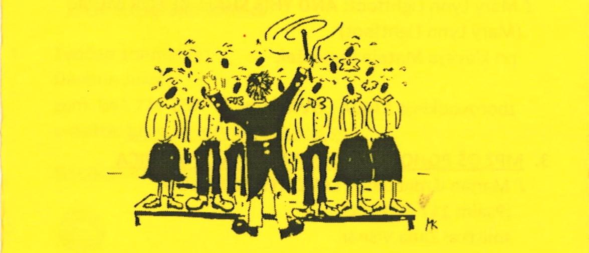 46. območna revija mladinskih pevskih zborov