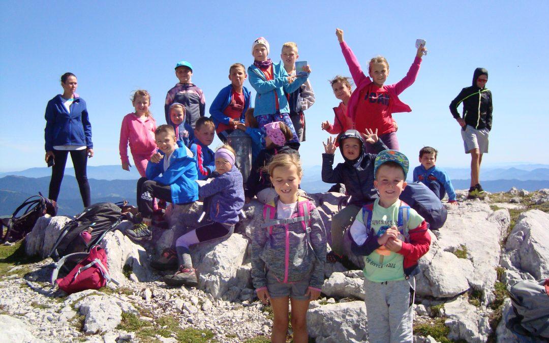 Dosegli vrh Velike Zelenice (2114 m)