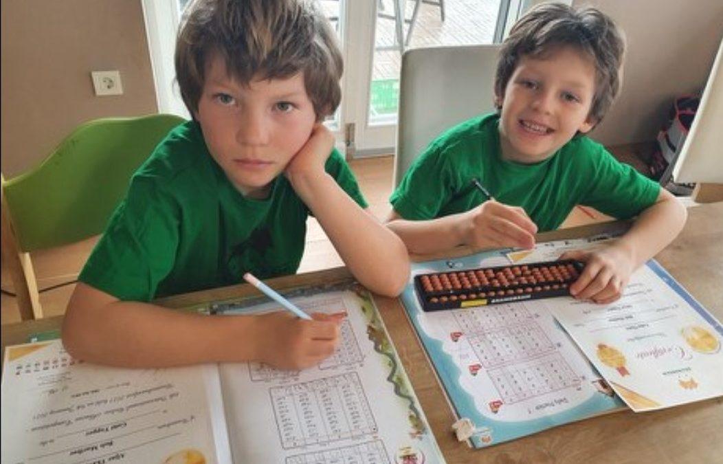Aljaž in Luka Tkavc osvojila odličen rezultat na tekmovanju Brainobrain